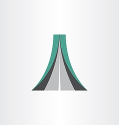 Highway icon abstract design element vector