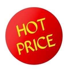 HOT PRICE red vector