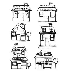 house style set vector image
