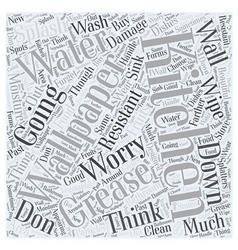 Kitchen wallpaper Word Cloud Concept vector