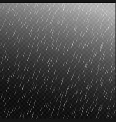 rain isolated vector image