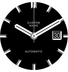 Smart watch face c vector