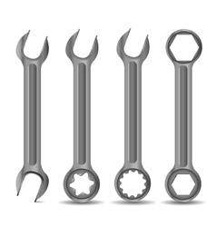 Steel Spanner vector image