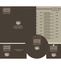 coffee style vector image