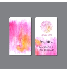 Business Card 1 vector image vector image