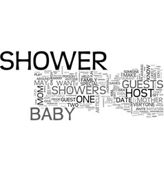 baby skin care products text word cloud concept vector image