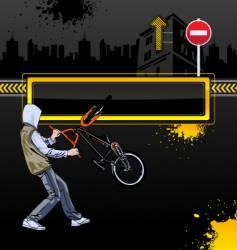 urban background vector image