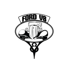 34ford ornament vector