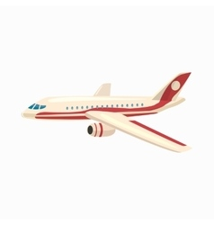 Airplane icon cartoon style vector image