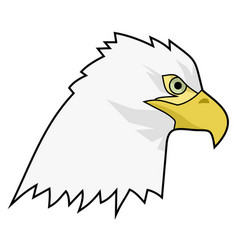 draw eagle vector image