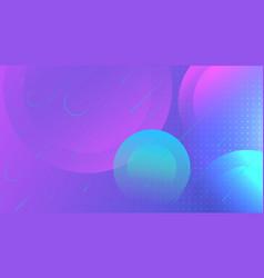 futuristic gradient geometric background vector image