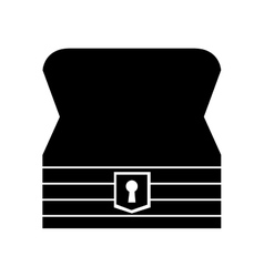 Game Treasure chest icon vector