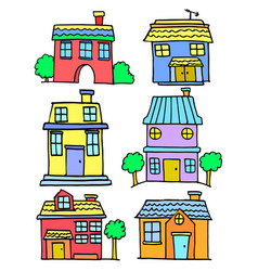 House set various vector
