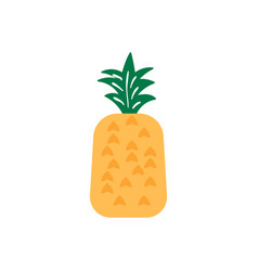 Pineapple icon design template isolated vector