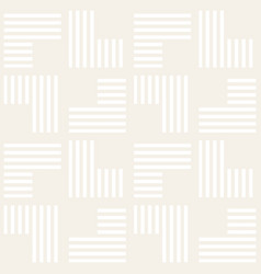 Seamless pattern stripes abstract vector