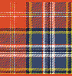 textile tartan plaid texture seamless pattern vector image