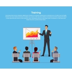 Training Staff Briefing vector