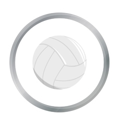 Volleyball icon cartoon Single sport icon from vector