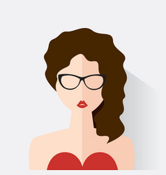 avatar of the modern woman vector image