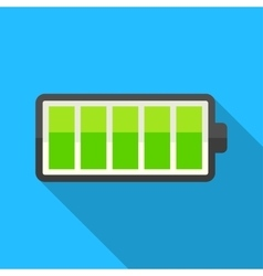 Full charge icon vector image