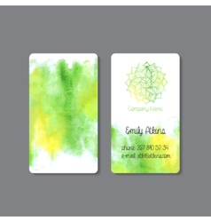 Business Card 3 vector image vector image