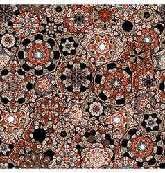Seamless pattern texture Indian arabic turkish vector image vector image