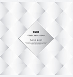 Abstract background black and white square vector