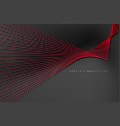 abstract background red line for design vector image