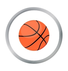 Basketball icon cartoon Single sport icon from vector