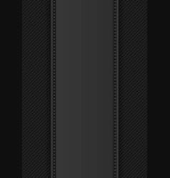 Black knitwear vector