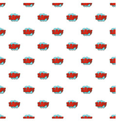 Comic boom zap pattern seamless vector