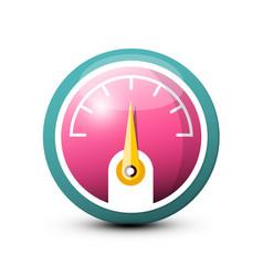 fuel - dashboard icon vector image