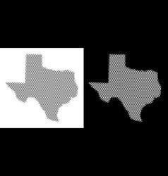 Halftone texas map vector