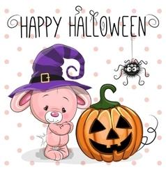 Halloween Rabbit vector