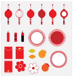 Icon Chinese New Year vector image