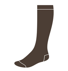 Long sock vector image