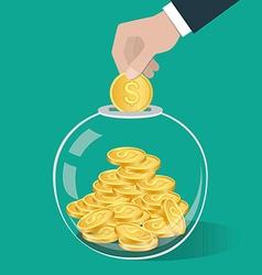 money 1 10 vector image