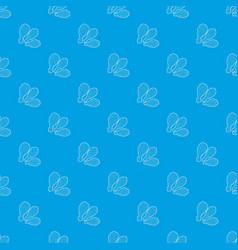 thighs pattern seamless blue vector image