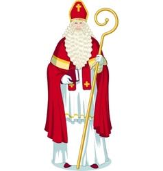 Christmas Character Sinterklaas cartoon vector image