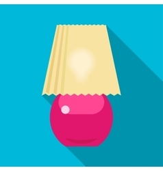 Lamp icon vector image vector image