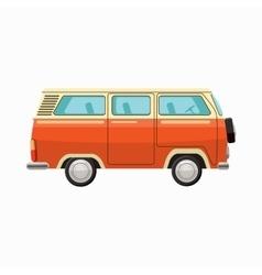 Bus icon cartoon style vector image vector image