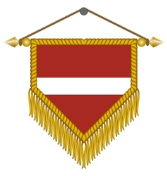 flag of latvia vector image
