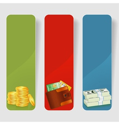 Three Business Frame vector image