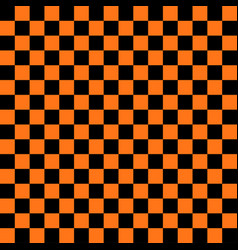abstract black and orange color square background vector image