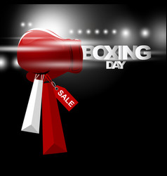 boxing day sale concept design vector image