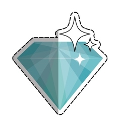 Diamond luxury fashion vector image