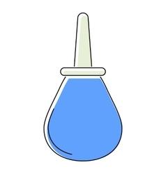 Enema icon flat style vector image