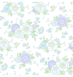 floral pattern wedding vector image