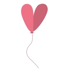 Letter ballooon air cute balloon vector image