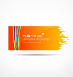 Paper flame vector